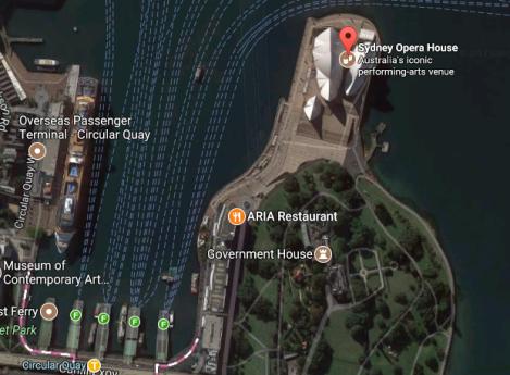 sydney opera house no line